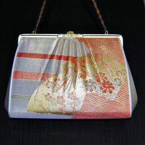 Handbags - Vintage Womens Kimono Small Mini Handbag Clutch